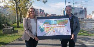 Bilbao Ría 2000 convoca un concurso de ideas para el diseño del Parque de Ribera, en Barakaldo