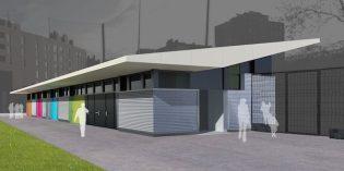 Las obras de los vestuarios del campo de fútbol de Ansio se realizarán el próximo verano