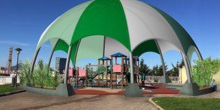 Barakaldo instalará una cubierta en el parque infantil de Balejo, en Cruces
