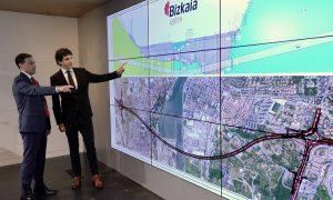 Bizkaia licita el proyecto constructivo del túnel  bajo la ría de Bilbao