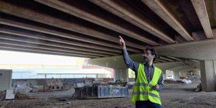 Comienzan las obras de reparación de dos viaductos de la A-8 a su paso por Trapagaran