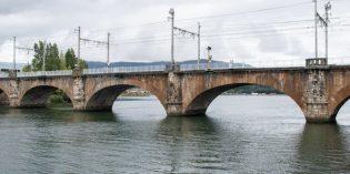 Adif rehabilitará el puente internacional sobre el Río Bidasoa