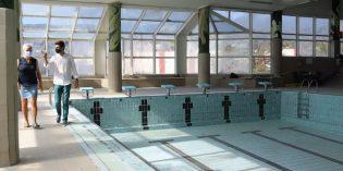 Bermeo renovará la cristalera de la piscina municipal