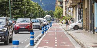 Gernika modifica el trazado del bidegorri en la calle Iparragirre