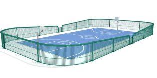 Bilbao construye una cancha de baloncesto en los jardines de Emiliano Arriaga