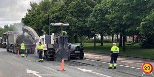 Vitoria invertirá 1,7 millones para reasfaltará los viales entre Mendizorrotza y Esmaltaciones