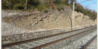 Adif acometerá obras de adecuación de taludes y trincheras en varios puntos de la red ferroviaria a su paso por Álava
