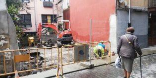 Bermeo inicia la adecuación de la calle Intxausti