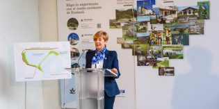 Lakua ampliará la laguna de San Lorenzo y mejorará la conectividad de los espacios naturales de Txingudi