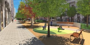 Bilbao convertirá la calle María Díaz de Haro en un corredor verde