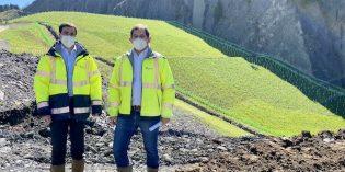 Bizkaia anuncia nuevas obras medioambientales en el entorno del Pagasarri