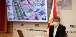 Los barrios de Lakua y Arriaga tendrán una  mediana sobre Portal de Foronda