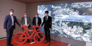 Bizkaia estrenará en 2023 primera bicipista entre Amorebieta y Iurreta