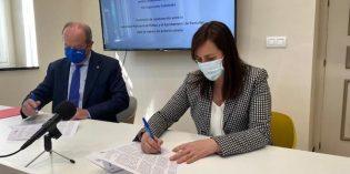 Santurtzi y Puerto de Bilbao y el Ayuntamiento de Santurtzi firman un convenio para la mejora del entorno urbano