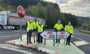Álava y Bizkaia ampliarán en 2022 el cruce de Ubide para mejorar su seguridad