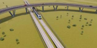 ETS eliminará el paso a nivel de Euba mediante un viaducto de 225 metros
