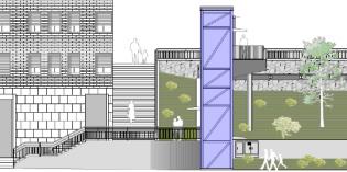 Santurtzi construirá un nuevo ascensor en el Grupo Fontuso