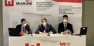 La construcción contribuye en un 11 % al PIB y al empleo de Euskadi