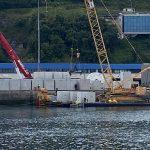 El Puerto de Bermeo utiliza hormigón  con menor huella de carbono del mercado