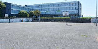 Lakua arreglará el patio del instituto Ángela Figuera de Sestao