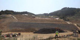 Acaban las obras de estabilización del vertedero de Zaldibar