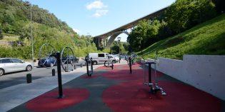 Bilbao abre una nueva área biosaludable en Zamalola