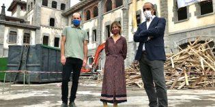 Vivienda inicia la construcción de 48 alojamientos dotacionales en el edificio de las Esclavas, en Azpeitia