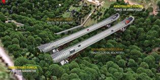 Bizkaia implantará un innovadora solución para construir los viaductos sobre el Bolintxu